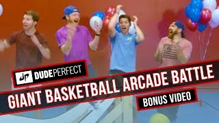 Dude Perfect: Giant Basketball Arcade Battle BONUS Video
