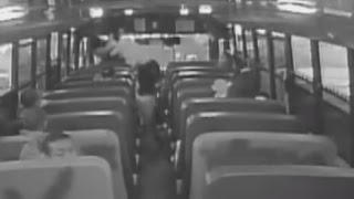 Mom Brutally Attacks School Bus Driver As Terrified Children Watch In Fear width=