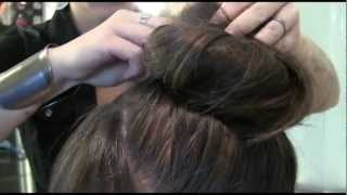 How To: Birdnest Bun