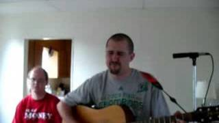 Run Around - Blues Traveler cover (acoustic, amazing solo..)