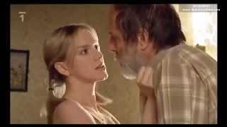 Obeti a vrazi - Triple spanking / belting scene