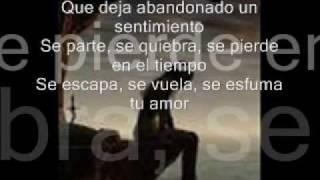 Se esfuma tu amor - Marc Anthony (letra)