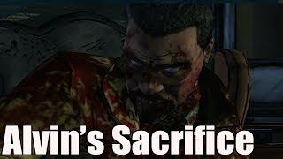 Alvin's Sacrifices Himself The Walking Dead Season 2 Episode 3 In Harm's Way