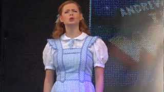 The Wizard of Oz - 'Somewhere Over the Rainbow' @ West End Live 2012 (Sophie Evans)