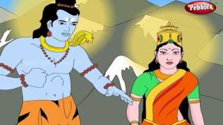 Ravan Picks Up Kailas   Lord Shiva Stories in English   Shiv Parvati Miracles   Shiva Tandav