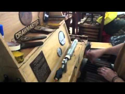 Nicaragua Trip Part 37: The Drawmaster Machine at the Nestor Plasencia Factory