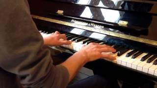 The Piano - Amazing Short Piano Cover