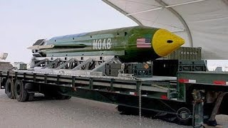 "United States drops ""mother of all bombs"" in Afghanistan"
