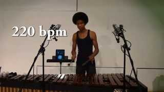 Marimba Skillz: Super Fast Alternating Double Laterals