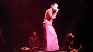 "SADE - ""Cherish the day"" Live Target Center Mpls MINNESOTA 8.9.11"