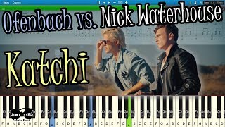 Ofenbach vs. Nick Waterhouse - Katchi [Piano Tutorial | Sheets | MIDI] Synthesia