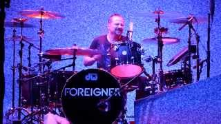 Foreigner - Drum Solo Chris Frazier 03.04.14