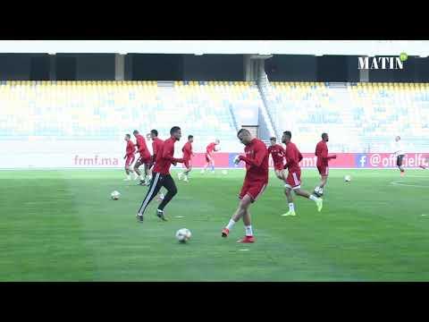 Video : Dernière séance d'entrainement des Lions avant la rencontre face à l'Argentine