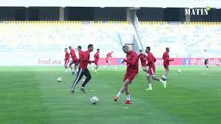 Dernière séance d'entrainement des Lions avant la rencontre face à l'Argentine