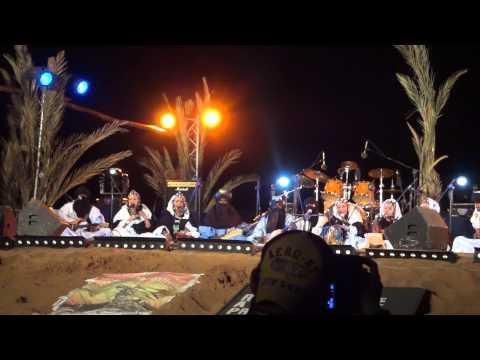 Tartit from Mali in Taragalte Festival 2012 – part 5, Mhamid Sahara Desert Morocco