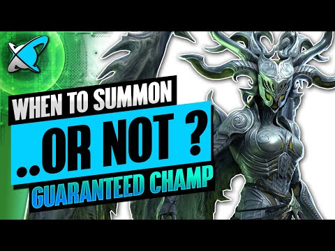 WHEN TO SUMMON... OR NOT !? | Guaranteed Champion Event | RAID : Shadow Legends