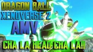 "DRAGON BALL XENOVERSE 2 OFFICIAL AMV/GMV ""CHA LA HEAD CHA LA"" STEVE AOKI REMIX!!"