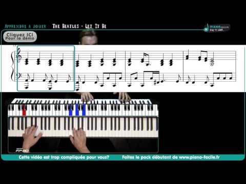 Comment jouer Let it be des Beatles au piano