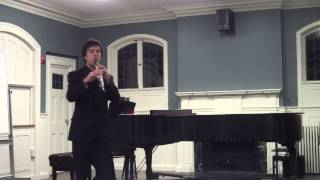 Bach - Oboe Solo from Easter Oratorio - Rodion Belousov