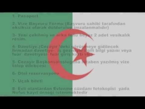 Cezayir Vizesi (vizemerkezi.com)