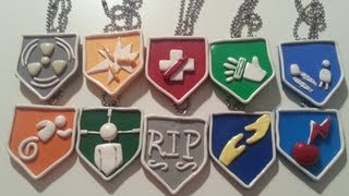 COD BO2 Zombie Perk-A-Cola Necklaces (Charm Update #6)