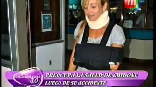 El estado de salud de Andrea Ghidone luego del accidente