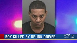 Boy Killed By Drunk Driver