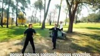 Vuvuzela - Banda sul africana Sargent Foo, grava musica sobr.mp4
