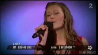 Europe's Got Talent - 2009 - Lydia Hoen Tjore (14 year old) Time To Say Goodbye - Classic (HQ)