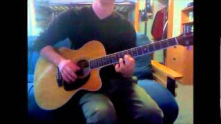 Dave Matthews and Tim Reynolds- The Maker (Guitar Solo Cover)