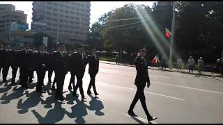 Paradă de ziua imnului național în Iași