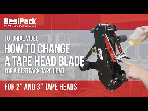 How to Change a tape head blade