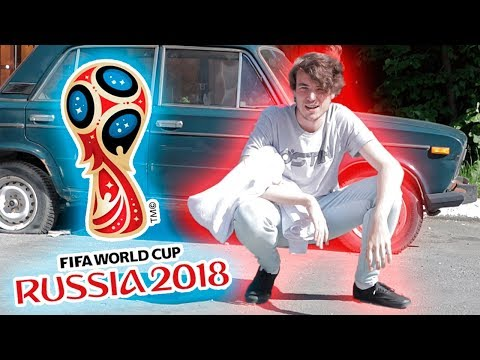 Russian Idiot Visits The FIFA World Cup