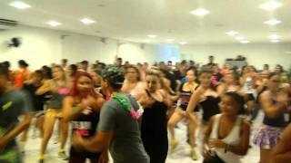 Aulão pré carnaval foi show..