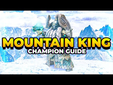 RAID | Mountain King Guide! | HIGHEST HP in the game!