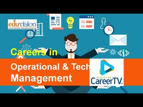 Career In Operational And Technical Management
