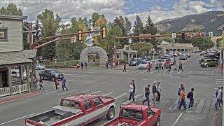 Jackson Hole Wyoming Town Square - SeeJH.com