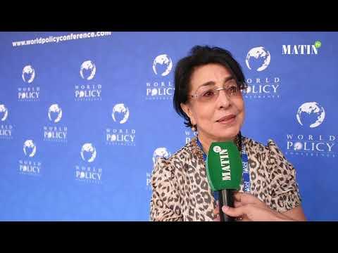 Video : #World_Policy_Conference: Déclaration de Assia Bensalah Alaoui