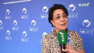 #World_Policy_Conference: Déclaration de Assia Bensalah Alaoui