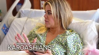Khloe Kardashian Gives Birth In The Middle Of Tristan Scandal   KUWTK   E!