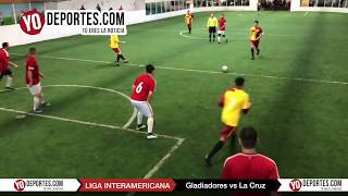 Gladiadores vs. La Cruz Liga Interamericana