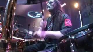 Joey Jordison LIVE! with Slipknot tour 2009