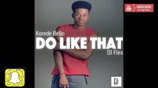 Do it like that DJ flex