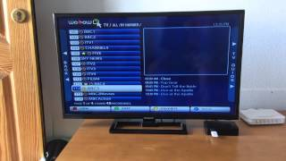 How to download programmes to memory stick MAG250