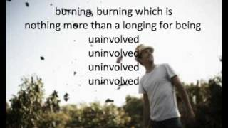 Jason Mraz - Burning Bridges (Lyrics)