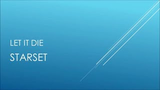Starset - Let It Die (Acoustic) (Lyrics)