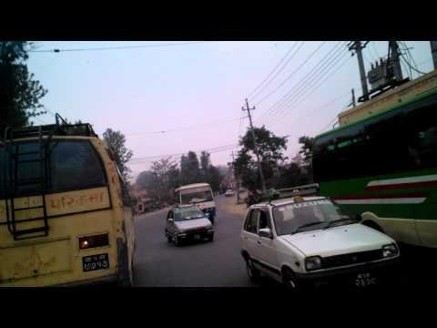 short video of riding in Kathmandu Nepal