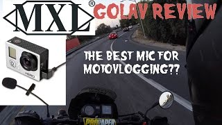 MXL GoLav MM-165GP Review: Best Mic for Motovlogging?