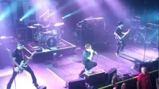 Billy Talent - Fallen Leaves LIVE Melbourne, The Palace Theatre 2013