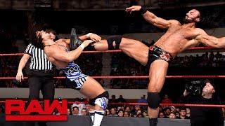 Chad Gable vs. Drew McIntyre: Raw, May 28, 2018